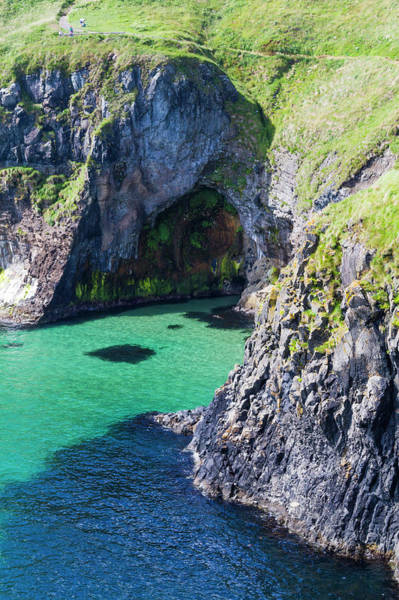 County Antrim Wall Art - Photograph - Carrick-a-rede Island And Coast by Maciej Frolow