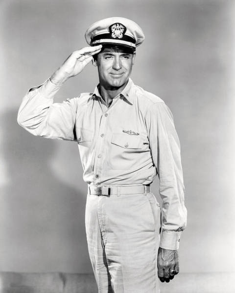 Operation Wall Art - Photograph - Cary Grant In Operation Petticoat  by Silver Screen