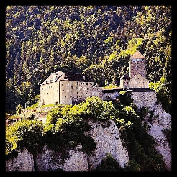 Fantasy Wall Art - Photograph - #castel #tirolo by Luisa Azzolini