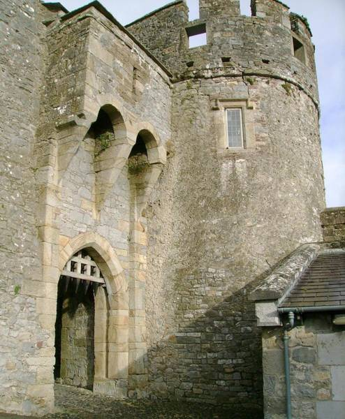 Wall Art - Photograph - Castle Gate by Valerie Howell