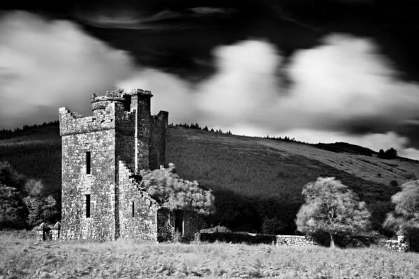 Photograph - Castle Ruins / Ireland by Barry O Carroll