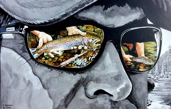 Painting - Catch And Release by Tim  Joyner