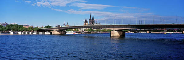 Rhine River Photograph - Cathedral And Rhine River by Murat Taner