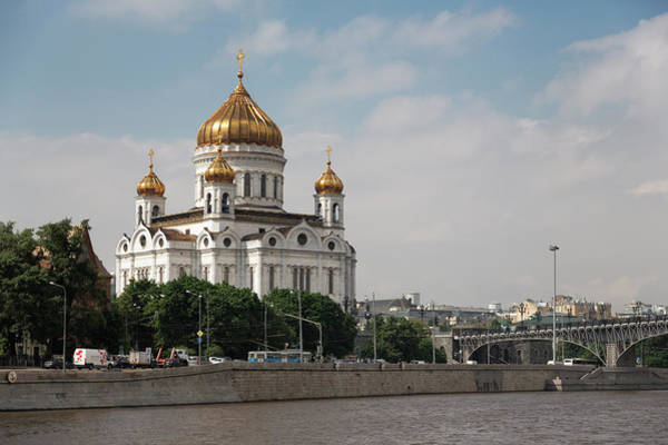 Cathedral Of Christ The Savior Photograph - Cathedral Of Christ The Redeemer by Martin Child