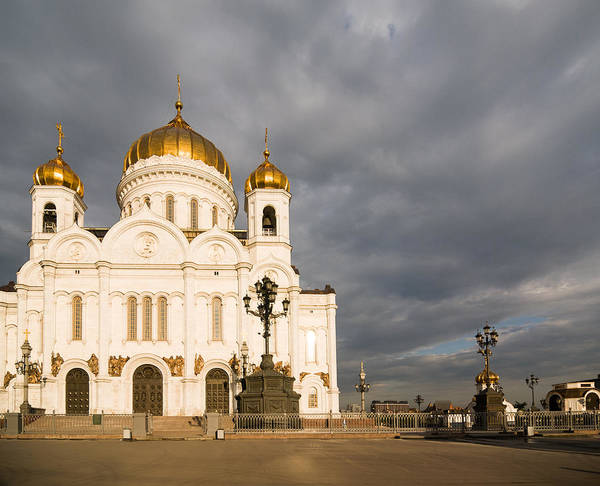 Cathedral Of Christ The Savior Photograph - Cathedral Of Christ The Saviour by Nikita Buida