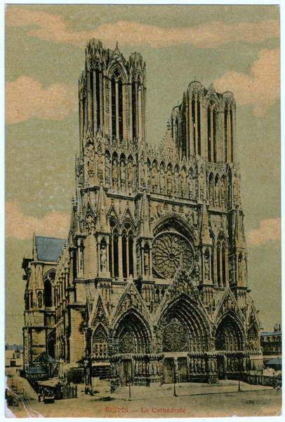 Notre Dame Drawing - Cathedral Of Notre Dame by Mary Evans Picture Library