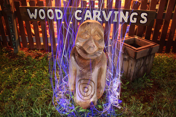Wall Art - Photograph - Cattelacs Chainsaw Art  by Andrew Nourse