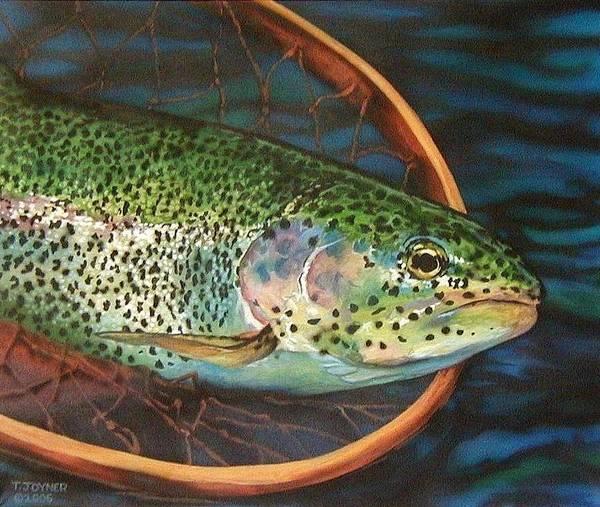 Painting - Caught On Canvas by Tim  Joyner