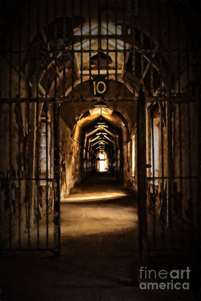 Photograph - Cell Block 10 by Paul W Faust -  Impressions of Light