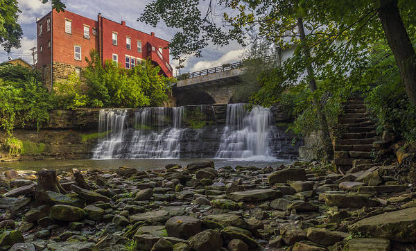 Photograph - Chagrin Falls by Torrey McNeal