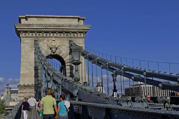Photograph - Chain Bridge Budapest by Tony Murtagh