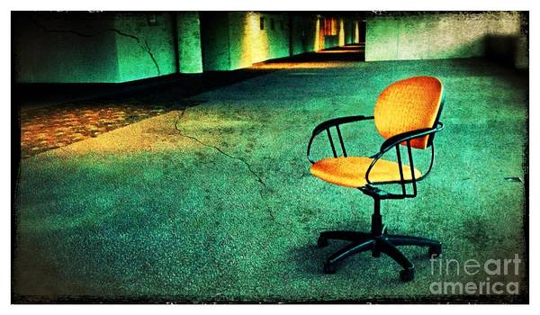 Wall Art - Photograph - Chair2 by Perry Webster