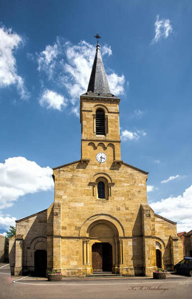 Wall Art - Photograph - Chambilly Church by Keith Hutchings
