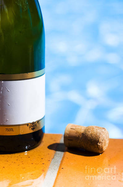 Bottle Green Photograph - Champagne Bottle And Cork by Jorgo Photography - Wall Art Gallery