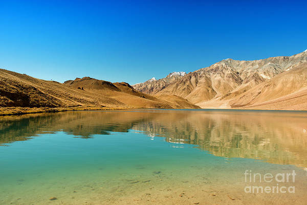 Photograph - Chandratal Lake by Yew Kwang