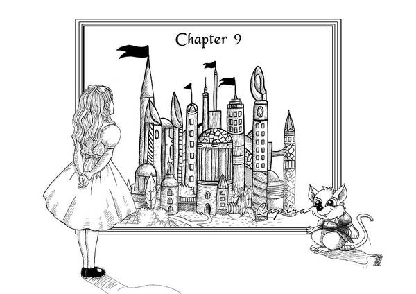 Drawing - Chapter Nine by Reynold Jay