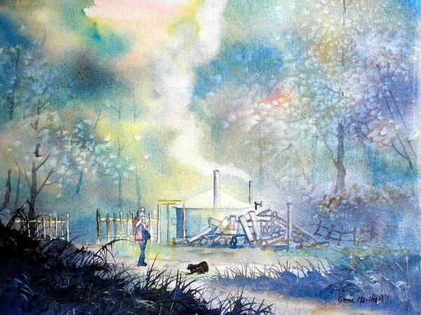 Painting - Charcoal Charlie by Glenn Marshall