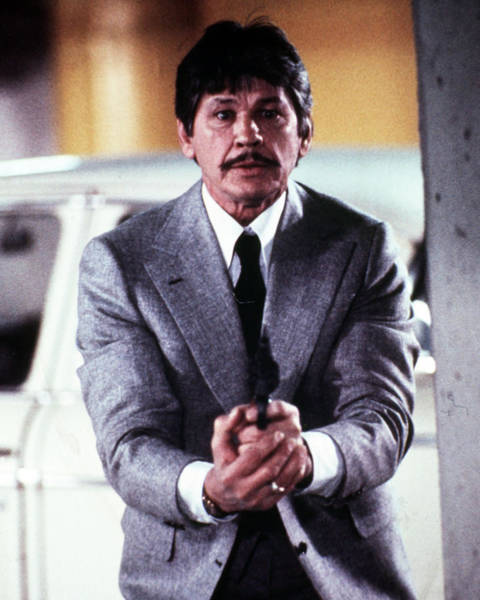 Wall Art - Photograph - Charles Bronson In Murphy's Law  by Silver Screen