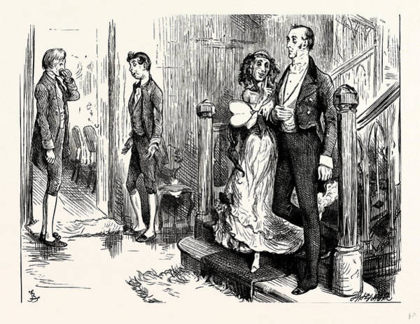 Wall Art - Drawing - Charles Dickens Dombey And Son by English School