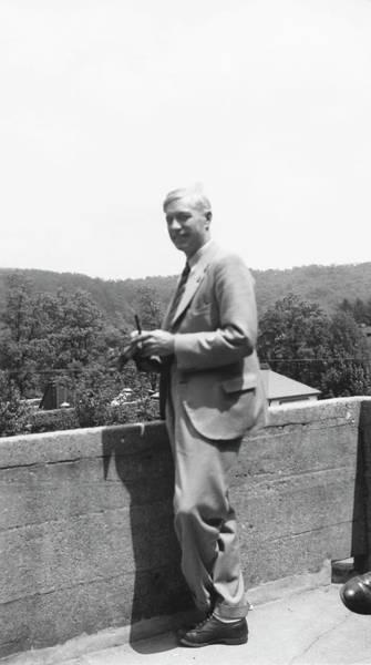 Leonard Photograph - Charles Huskins by American Philosophical Society