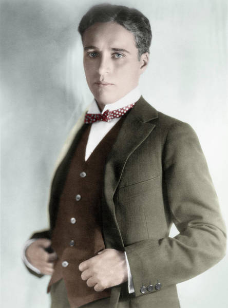 Photograph - Charles Spencer Chaplin (1889-1977) by Granger