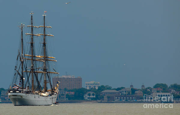 Photograph - Uscgc Eagle Wix-327 by Dale Powell