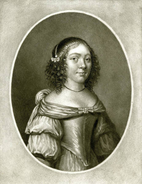 Wall Art - Drawing - Charlotte De La Tremouille Countess by Mary Evans Picture Library