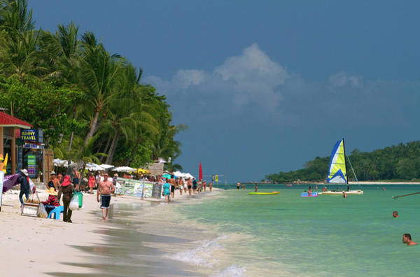 Chaweng Beach And The Gulf Of Thailand Art Print