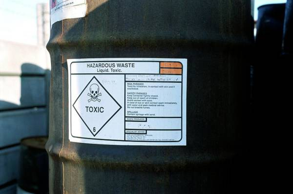 Greater Manchester Wall Art - Photograph - Chemical Waste Disposal Site by Robert Brook/science Photo Library