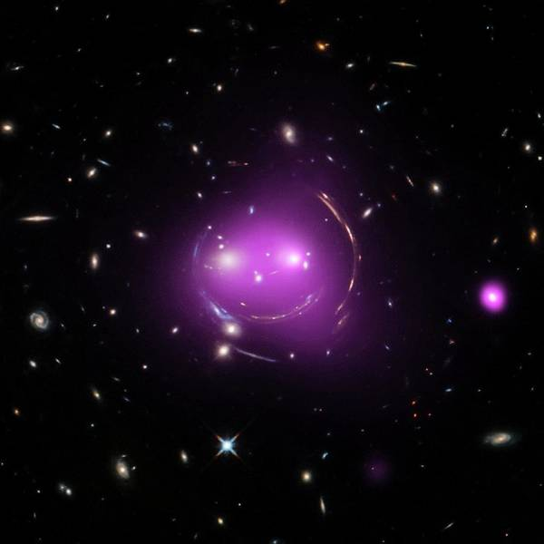 Mergers Wall Art - Photograph - Cheshire Cat Galaxy Group by Nasa/chandra X-ray Observatory Center