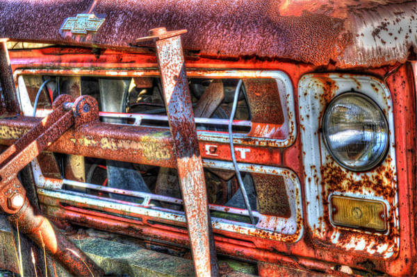 Dump Truck Photograph - Chevy C40 No. 3 by Geoffrey Coelho