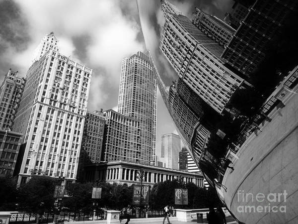 Photograph - Chicago Architecture by Eric Wiles
