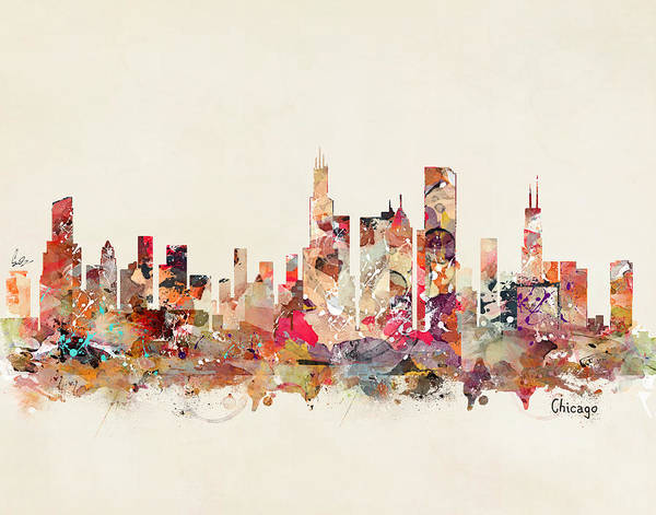 Chicago Illinois  Art Print
