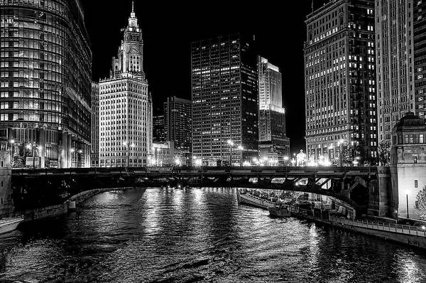 Wall Art - Photograph - Chicago River by Jeff Lewis