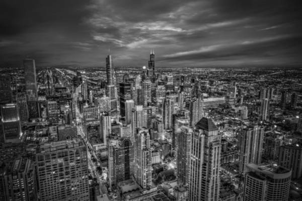 Chicago Skyline Photograph - Chicago Skyline by Alexander Hill