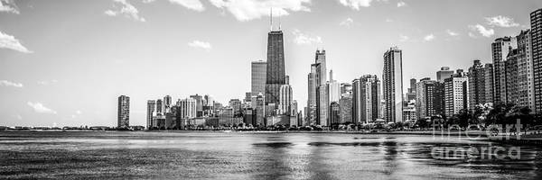 Chicago Skyline Art Photograph - Chicago Skyline Panorama Photo by Paul Velgos
