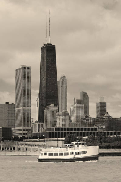 Wall Art - Photograph - Chicago  by Songquan Deng