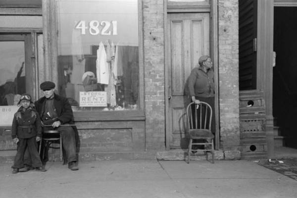 Wall Art - Photograph - Chicago Storefront, 1941 by Granger