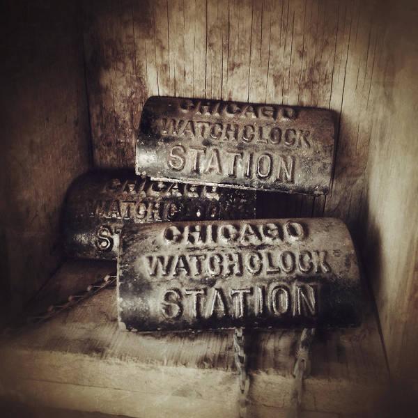 Photograph - Chicago Watchclock Station by Natasha Marco