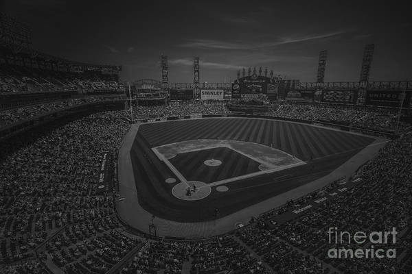 Photograph - Chicago White Sox 8693 Bw by David Haskett II