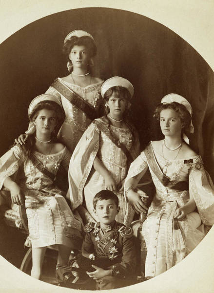 Imperial Russia Photograph - Children Of Nicholas II by Granger