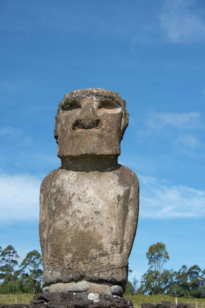 Artifacts Wall Art - Photograph - Chile, Easter Island Aka Rapa Nui by Cindy Miller Hopkins