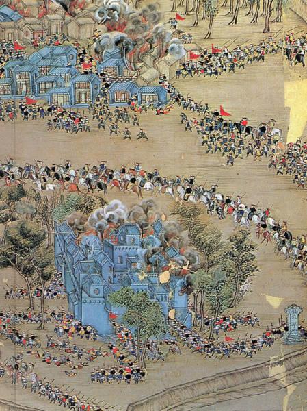 Wall Art - Painting - China Taiping Rebellion by Granger
