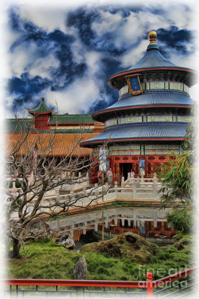 Wall Art - Photograph - Chinese Temple V by Lee Dos Santos