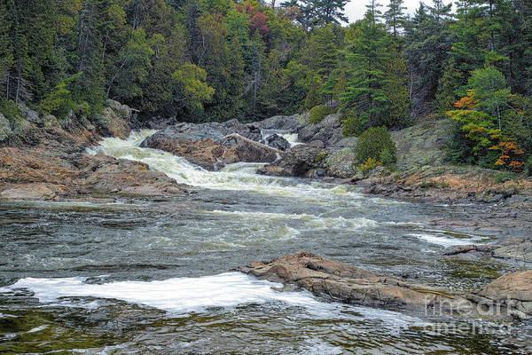 Photograph - Chippewa Falls by Les Palenik