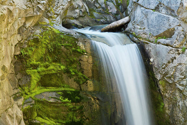 Christine Falls Photograph - Christine Falls, Mount Rainier National by Michel Hersen