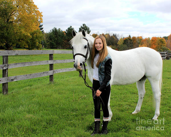 Photograph - Christine Sky 15 by Life With Horses
