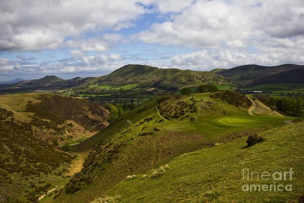 Church Stretton Photograph - Church Stretton Golf Course by Darren Burroughs