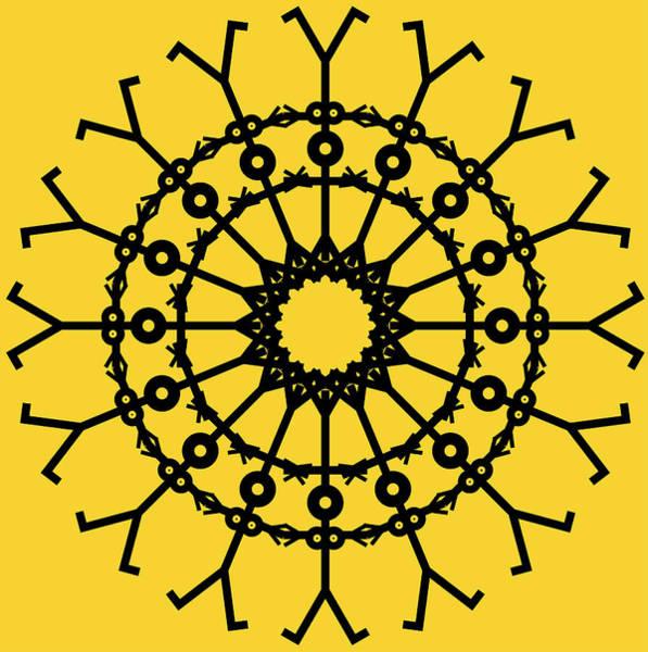 Ring Digital Art - Circle 2 Icon by Thisisnotme