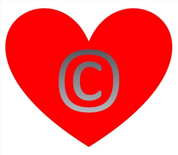 Digital Art - Circle C Red by Catherine Lott